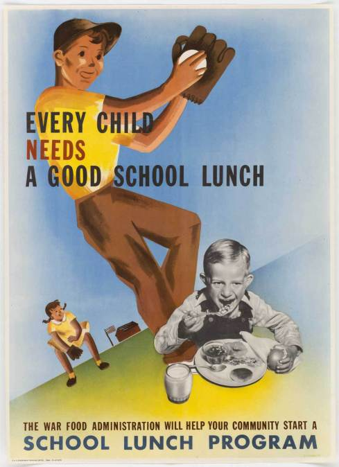 NARA School Lunch 1944
